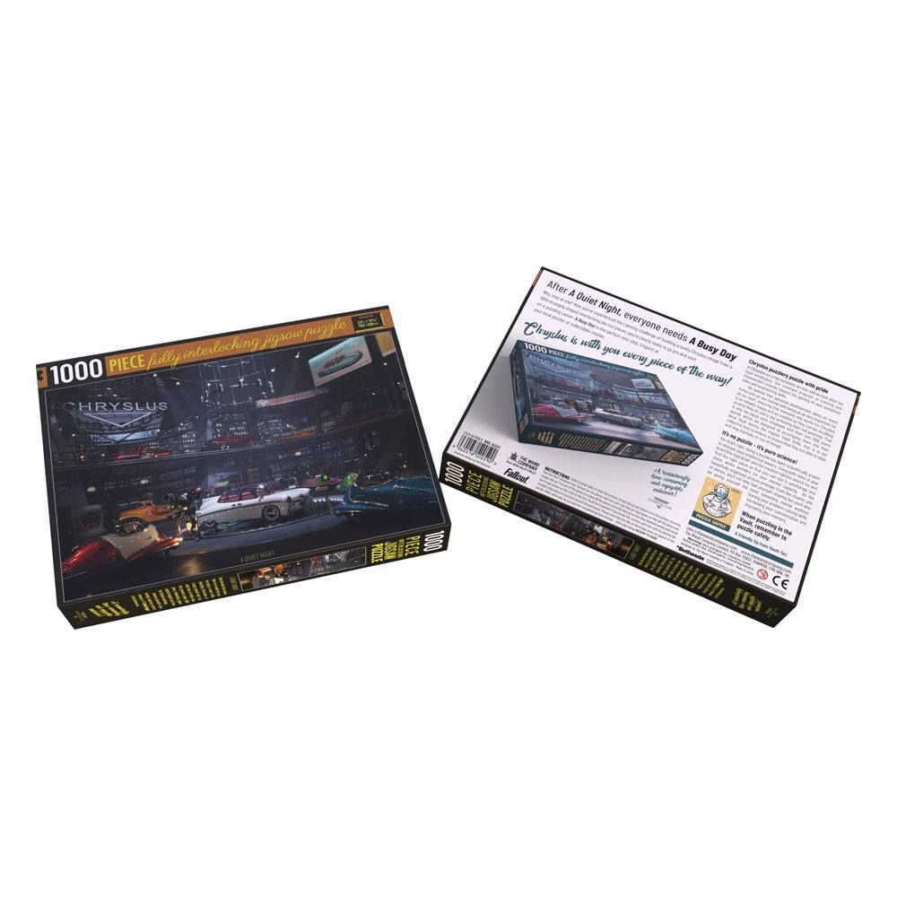 Fallout Chryslus Showroom Jigsaw Puzzle A Quiet Night (1000 pieces) Wand Company