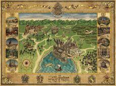 Harry Potter Jigsaw Puzzle Bradavice Map (1500 pieces)
