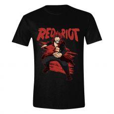 My Hero Academia Tričko Red Riot Velikost XL