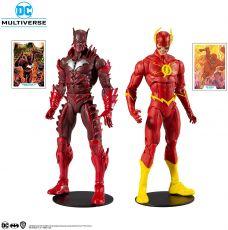 DC Multiverse Akční Figure Collector Multipack Earth - 52 Batman VS Flash 18 cm