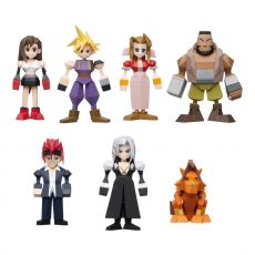 Final Fantasy VII Polygon Figures 4 - 6 cm Sada (8)