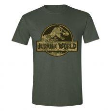 Jurassic World Tričko Camo Logo Velikost L