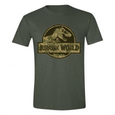 Jurassic World Tričko Camo Logo Velikost S