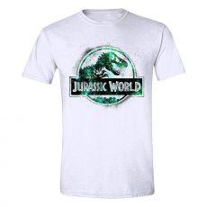 Jurassic World Tričko Spraypaint Logo Velikost L