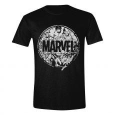 Marvel Tričko Character Circle Velikost L