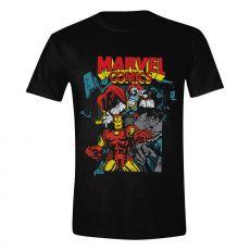 Marvel Tričko Comics Trio Velikost S