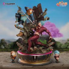 Seven Deadly Sins Elite Fandom Diorama 1/6 Ban vs King 54 cm