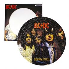 AC/DC Disc Jigsaw Puzzle Highway To Hell (450 pieces)