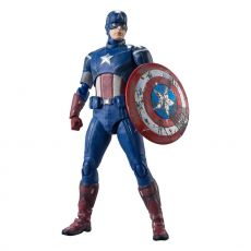 Avengers S.H. Figuarts Akční Figure Captain America (Avengers Assemble Edition) 15 cm