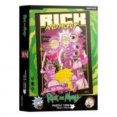 Rick & Morty Jigsaw Puzzle Retro Plakát (1000 pieces)