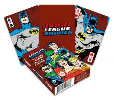 DC Comics Playing Karty Retro Justice League