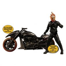 Ghost Rider Akční Figure & Vehicle with Sound & Light Up 1/12 Ghost Rider & Hell Cycle