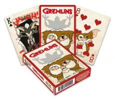 Gremlins Playing Karty Cartoon