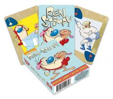 Ren & Stimpy Playing Karty Cartoon