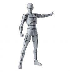 S.H. Figuarts Body Kun Akční Figure Wireframe Gray Color Verze 15 cm