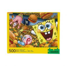 SpongeBob Jigsaw Puzzle Krabby Patties (500 pieces)