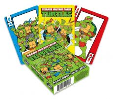 Teenage Mutant Ninja Turtles Playing Karty Cartoon