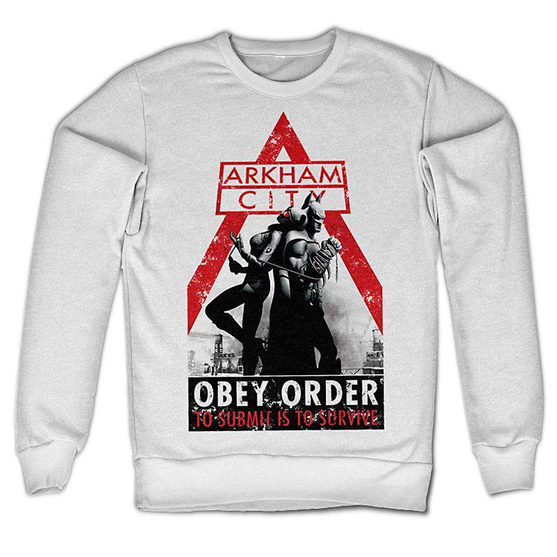 Batman Arkham mikina Obey Order Licenced