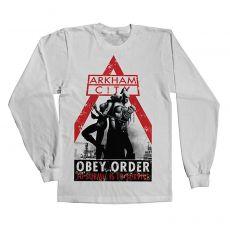 Tričko s rukávem Batman Obey Order