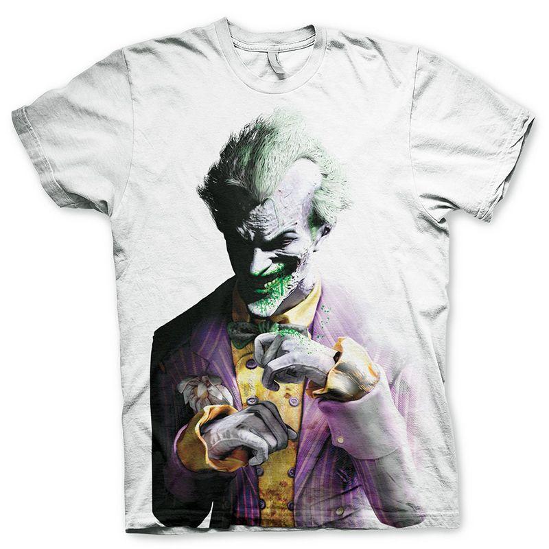 Batman tričko s Allover potiskem The Joker Arkham Licenced