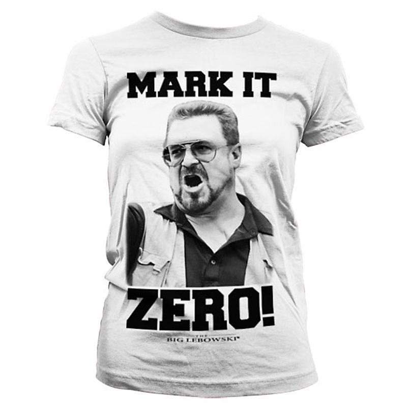 Big Lebowski dámské tričko Mark It Zero Licenced