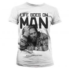 Dámské tričko Big Lebowski Life Goes On Man
