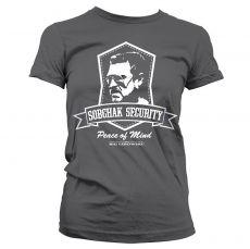 Dámské tričko Big Lebowski Sobchak Security