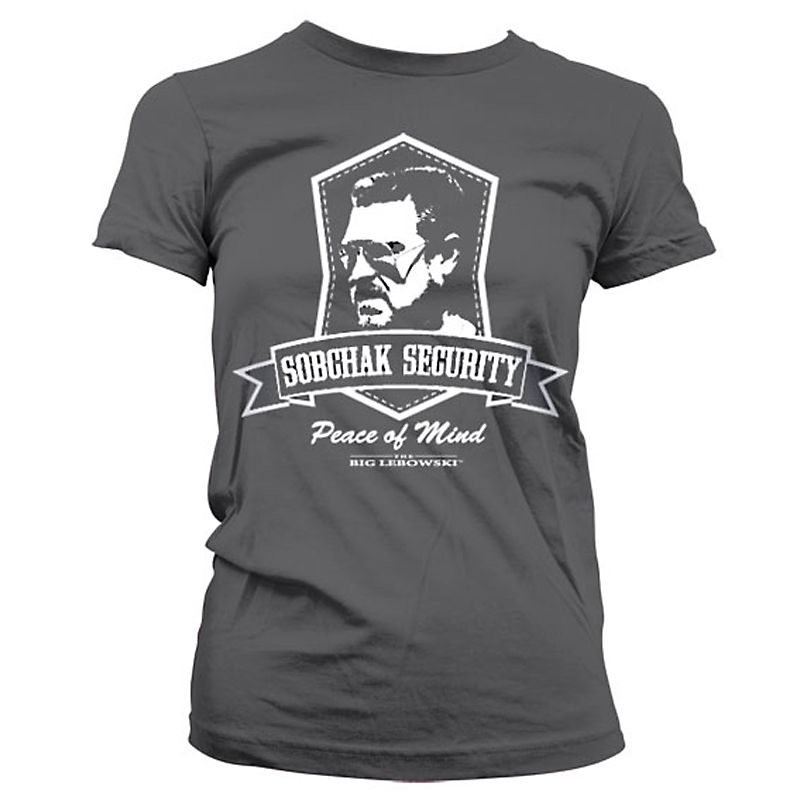 Big Lebowski dámské tričko s potiskem Sobchak Security Licenced