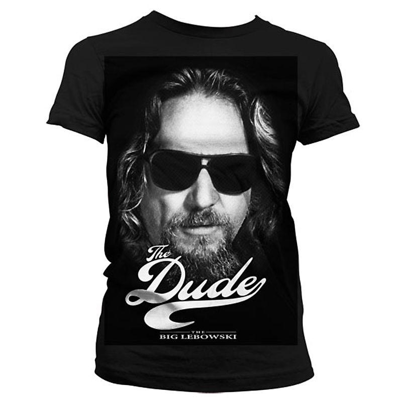 Big Lebowski dámské tričko s potiskem The Dude II Licenced