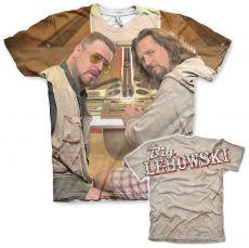 Pánské tričko Big Lebowski Allover