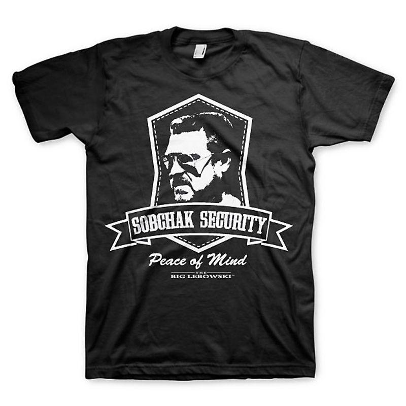 Big Lebowski pánské tričko s potiskem Sobchak Security Licenced