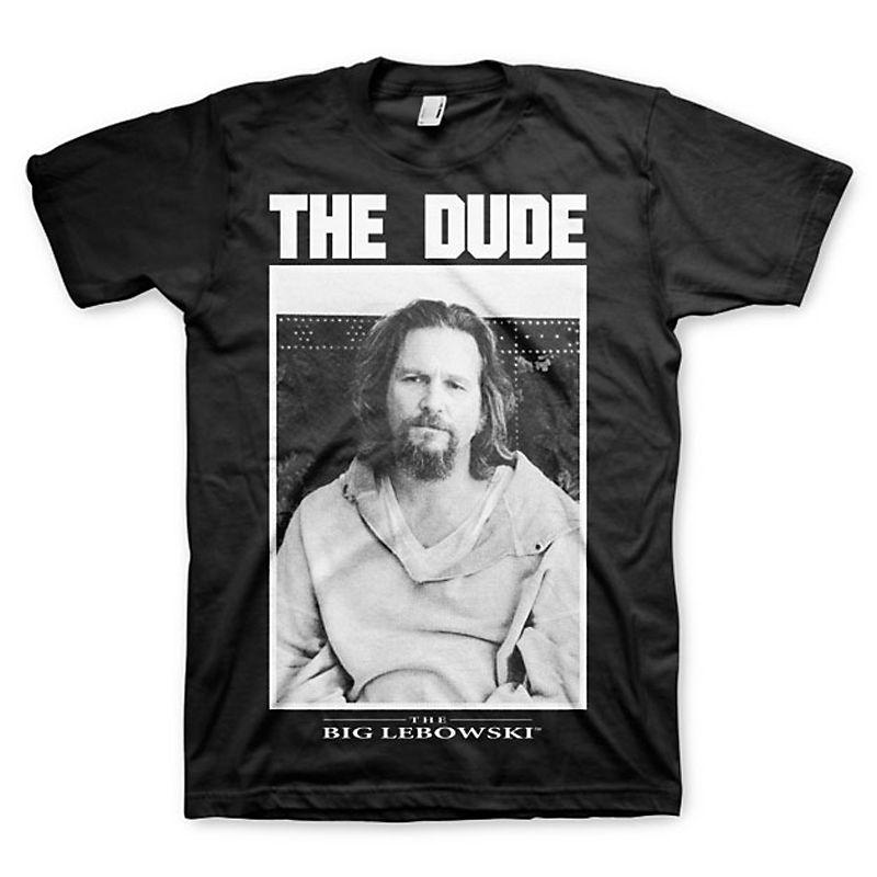 Big Lebowski pánské tričko s potiskem The Dude Licenced