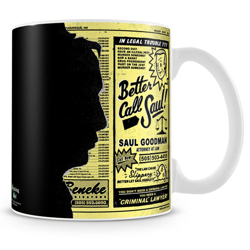Breaking Bad hrnek na kávu Saul Goodman Ad Licenced
