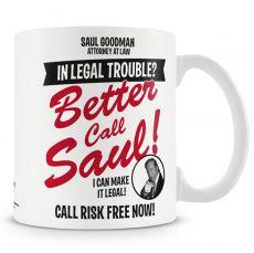 Breaking Bad hrnek s potiskem In Legal Trouble Licenced