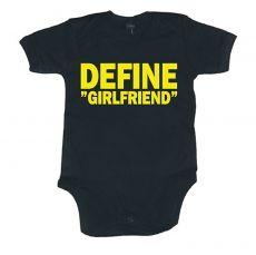 Dětské body Define Girlfriend