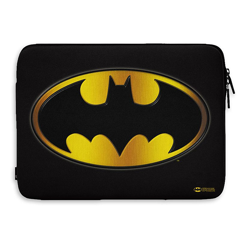 DC Comics pouzdro na notebook Batman Gold Logo Licenced