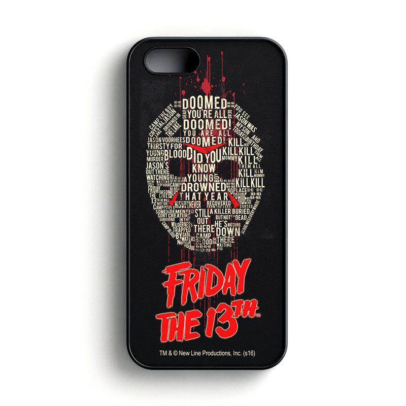 Friday The 13th pouzdro na telefon Wording iPhone 5