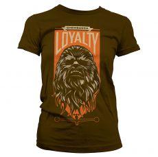 Star Wars VII dámské tričko Chewbacca Loyalty
