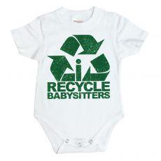 Dětské body I Recycle Babysitters