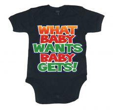 Dětské body Baby Wants