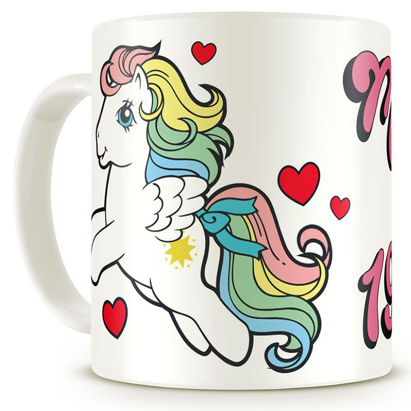 My Little Pony hrnek s potiskem Made In 1983 Licenced