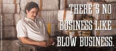 Narcos hrnek s potiskem Blow Business Licenced