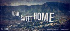 Narcos hrnek s potiskem Home Sweet Home Licenced