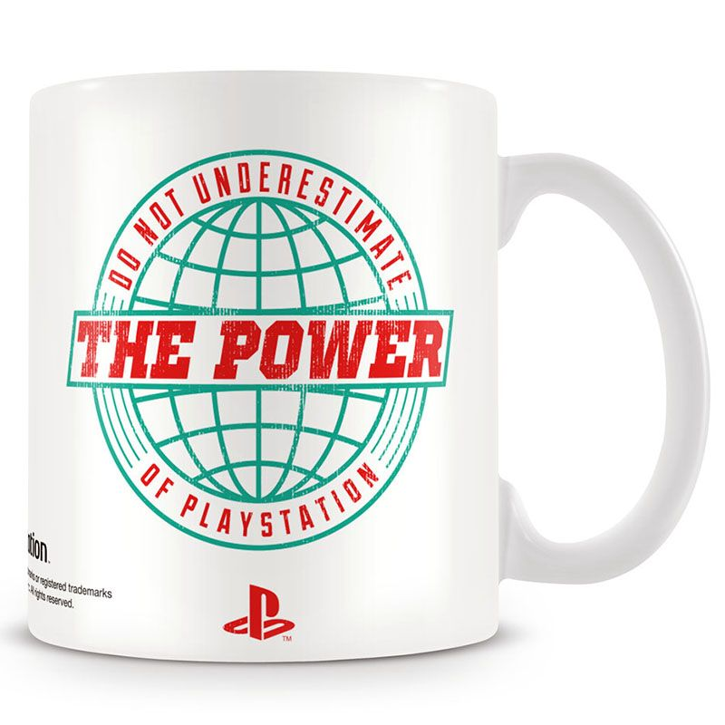 Playstation hrnek s potiskem Power Of Playstation