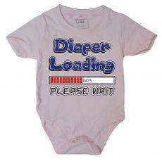 Dětské body Diaper Loading