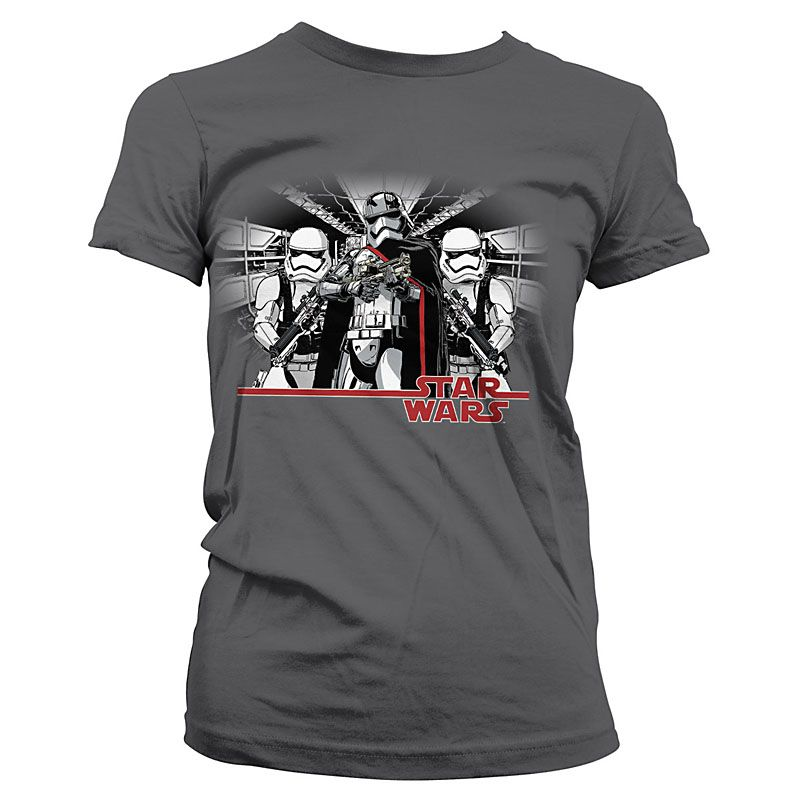 Star Wars Episode VII dámské tričko Captain Phasma Licenced