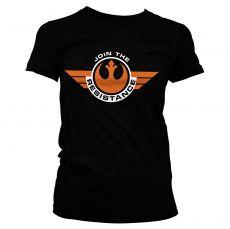 Star Wars VII dámské tričko Resistance