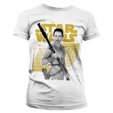 Star Wars VII dámské tričko Rey Gold Logo