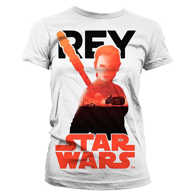 Star Wars Episode VII dámské tričko Sunset Rey Licenced