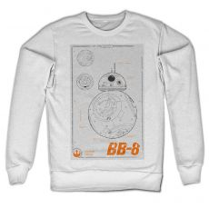Mikina Star Wars BB-8 Blueprint